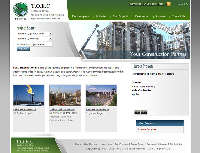Technical Office for Engineering & Contracting